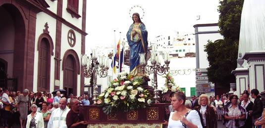 fiestas de la Concepción Agaete