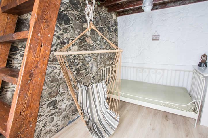 Habitación doble con cama extra en Agaete Gran Canaria