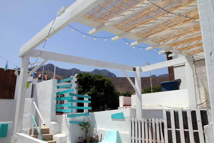 Common spaces Hostel in The Canary Islands Spain