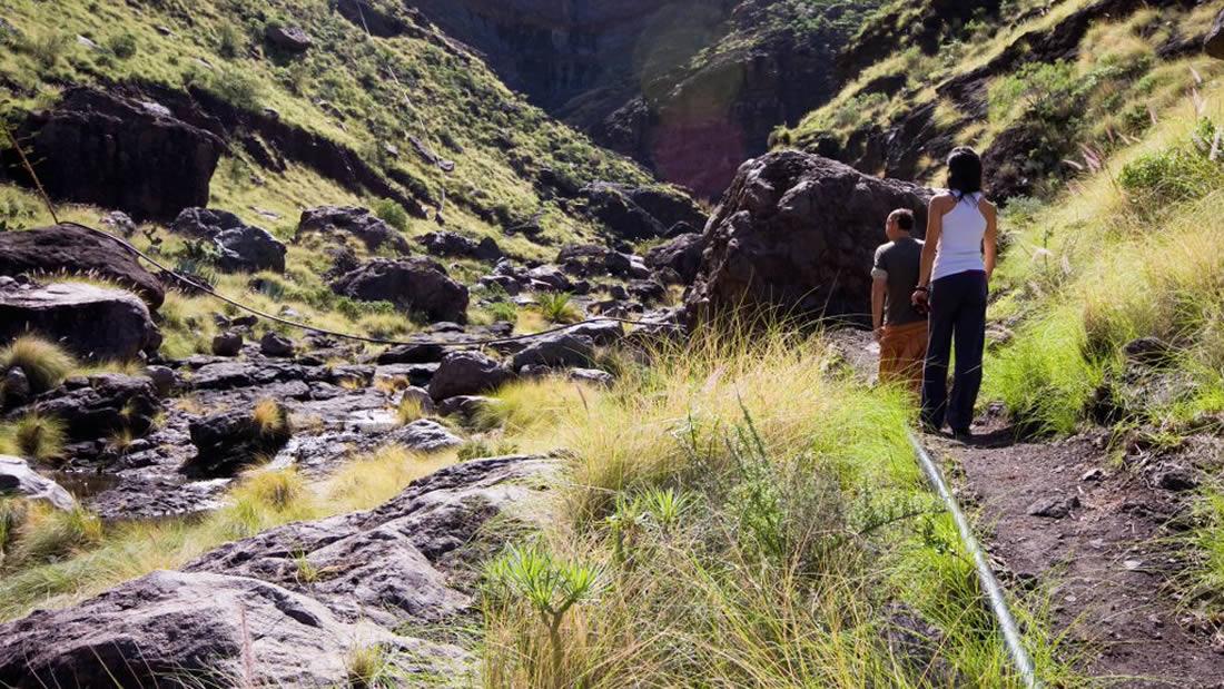 El Charco Azul, el Risco, Agaete - Gran Canaria