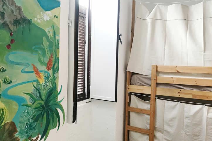 Calima, camas individuales en Gran Canaria