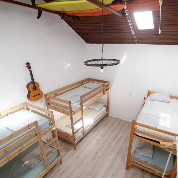 Backpackers room in Agaete Gran Canaria