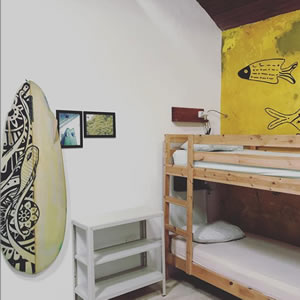 Backpackers room in Agaete Gran Canaria